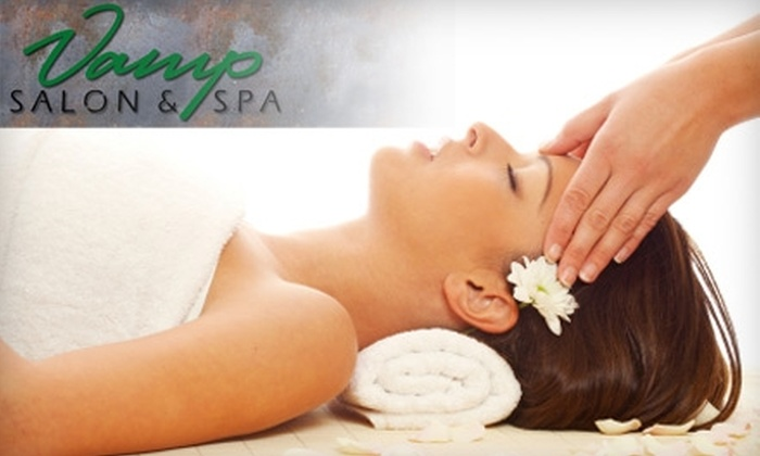 Vamp Salon & Spa - New Tacoma: $33 for a One-Hour Swedish or Deep-Tissue Massage at Vamp Salon & Spa