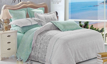 $49 for a New Design Queen Size Quilt Cover Set, or $59 for King, $79 for a Super King Size New Design Quilt Cover Set