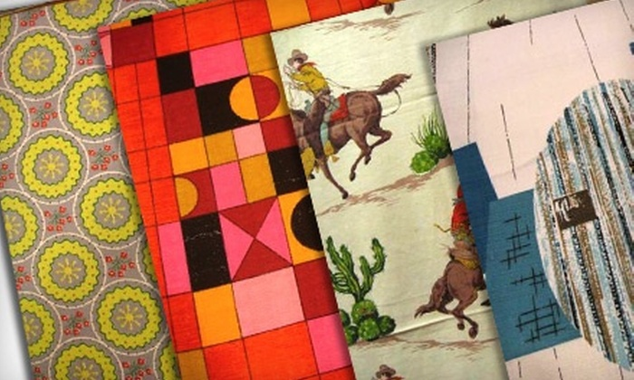 Urban Burp - Richmond: Vintage Fabric from Urban Burp (Up to 51% Off). Three Options Available.