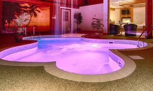 Romantic Chicagoland Suites with Private Pools at Sybaris Pool Suites, plus 6.0% Cash Back from Ebates.