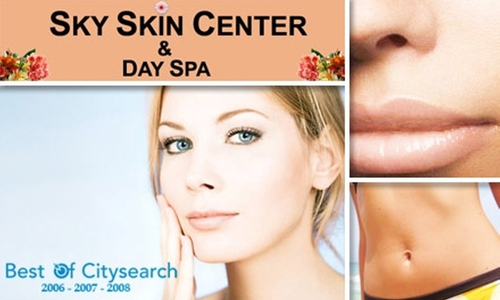 Sky Skin Center - Lynnfield: $185 for Three Laser Hair-Removal Sessions at Sky Skin Center
