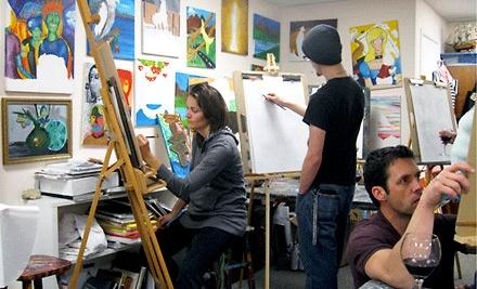 Kimberly Hardin Art School: 1 Month of Children's Art Classes - Kimberly Hardin Art School in Aptos