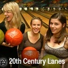 $6 for Bowling Package at 20th Century Lanes