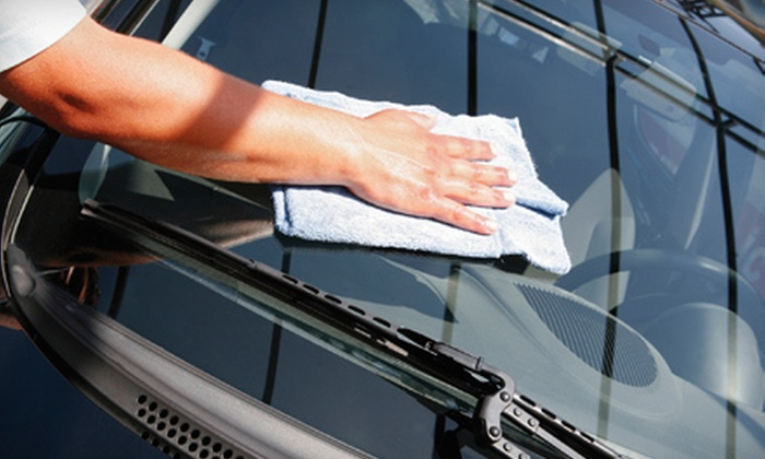 Eco Friendly Car Wash - Danbury: Three Exterior Hand Car Washes or One Polish-and-Wax Car Wash at Eco Friendly Car Wash in Danbury (Up to 55% Off)