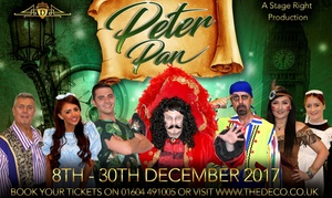 The Deco: Peter Pan Pantomime, 8-19 December at The Deco (Up to 38% Off)
