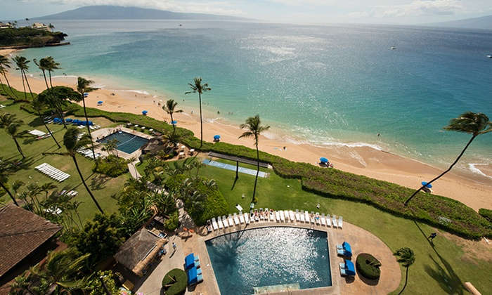 When you stay at Sheraton Maui Resort & Spa in Lahaina, you'll be on the beach, within a minute walk of Kaanapali Beach and Black Rock. This 4-star resort is mi (12 km) from Kapalua Beach and mi ( km) from D.T. Fleming Beach Park.
