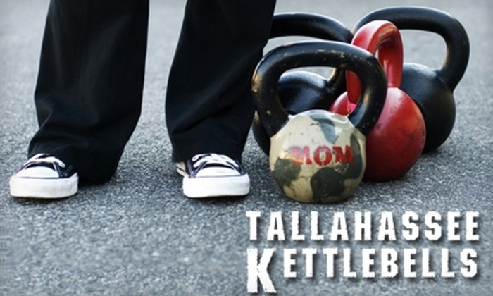 Tallahassee Kettlebells - Tallahassee: Four Weeks of Fitness Classes at Tallahassee Kettlebells. Choose Three Options.