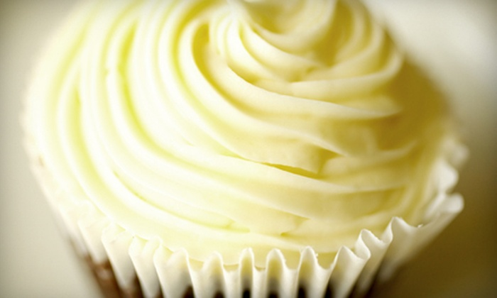 CC's Cupcake Cafe - Boise: $15 for One Dozen Extra-Large Cupcakes at CC's Cupcake Cafe ($30 Value)