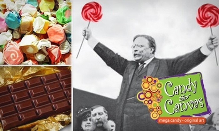 Candy & Canvas - Downtown: $7 for $15 Worth of Candy from Candy & Canvas