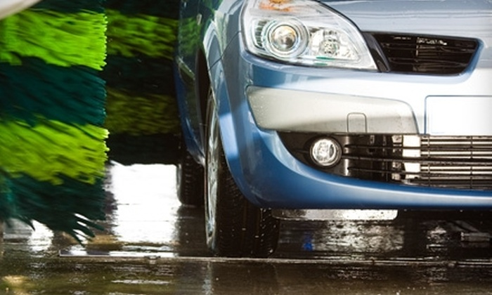 Freedom Wash - Multiple Locations: $30 for Two Months of Unlimited All American Car Washes With Rain-X at Freedom Wash ($99.80 Value)