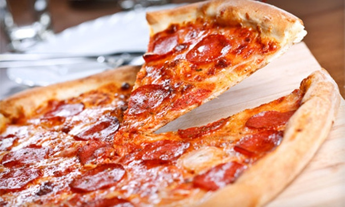 Roulette's Pizza - Victoria: 1 or 10 Three-Topping Pizzas at Roulette's Pizza in Victoria (Up to 54% Off)