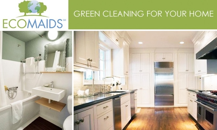 EcoMaids - Cleveland: $24 for One Kitchen and One Bathroom Cleaning From EcoMaids of Cleveland ($50 Value)