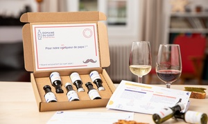 Coffret 6 Vinottes de vin