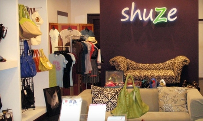 Shuze - Multiple Locations: $30 for $60 Worth of Shoes and Merchandise at Shuze