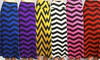 Women's Chevron-Striped Maxi Skirt: Women's Chevron-Striped Maxi Skirt