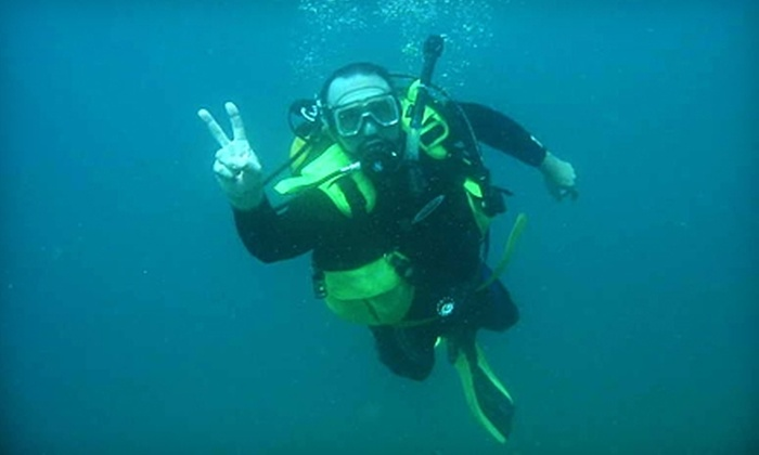 Moby's Dive Shop - Plainfield: $25 for an Introductory Scuba Lesson from Moby's Dive Shop ($55 Value)