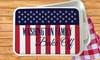 Monogram Online: Personalized Patriotic Serving Dish or Flag from Monogram Online (Up to 75% Off)