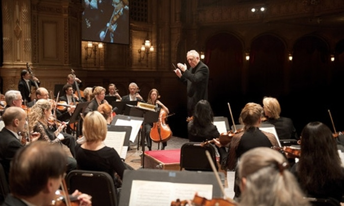 The Vancouver Symphony Orchestra - Multiple Locations: $40 for Two Tickets to The Vancouver Symphony Orchestra (Up to $136 Value)