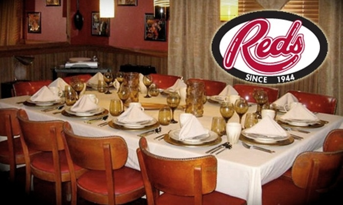 Red's Restaurant - Albany / Capital Region: $20 for $40 Worth of Surf-and-Turf Cuisine and Drinks at Red's Restaurant