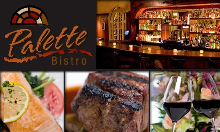 Palette Bistro  - Lakeview: $30 for $70 Worth of New American Cuisine at Palette Bistro