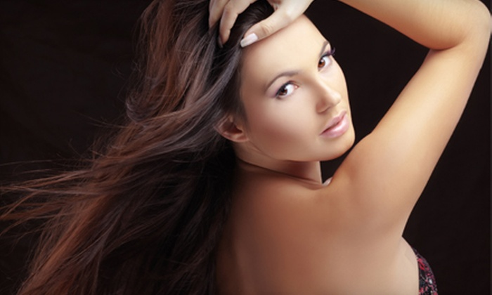 Elisabeth Braiding and Hair Extensions - Spence: Hair Extensions or Mani-Pedi at Elisabeth Braiding and Hair Extensions (Up to 58% Off)