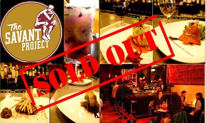 Savant Project - Fenway/Kenmore: $20 for a $40 Groupon to Savant Project
