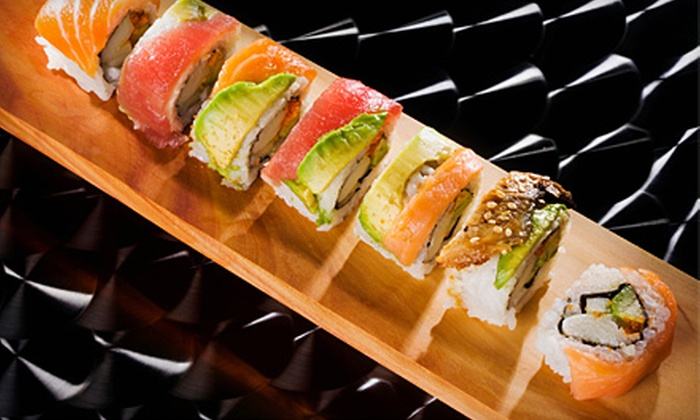 Iguana Sushi Bar - Multiple Locations: Dinner for Two or $15 for $30 Worth of Sushi at Iguana Sushi Bar (Up to 55% Off). Two Locations Available.