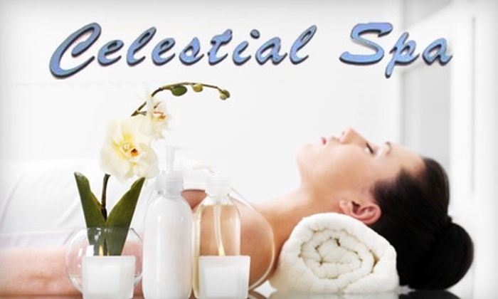 Celestial Spa - Cascade Heights: $37 for One of Four Spa Treatments at Celestial Spa ($75 Value)