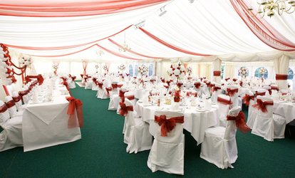 image for Wedding Package with Three-Course Breakfast and Evening Buffet at Marston Farm Hotel