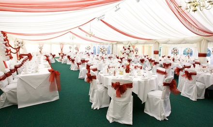 Wedding Package with Three-Course Breakfast and Evening Buffet at Marston Farm Hotel