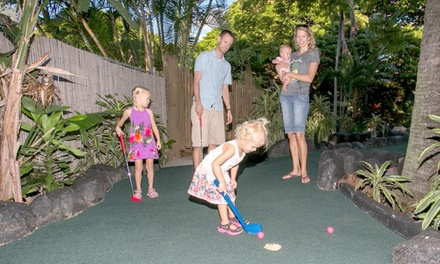 Mini-Golf Package for One, Two, or Four at Tropics Mini Golf (Up to 42% Off). Six Options Available.