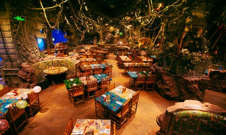 Up to AED 300 to Spend on Breakfast Menu at Rainforest Cafe (50% Off)