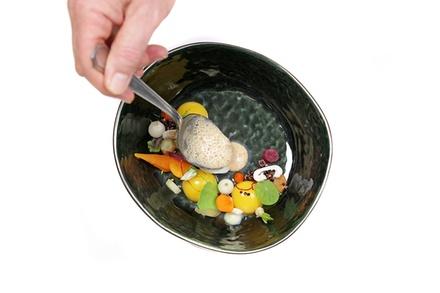 Menu gastronomique de luxe composé de nombreux services au Restaurant Oh!