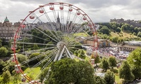Edinburgh Festival Wheel, 29 June - 1 September at East Princes Street Gardens (Up to 44% Off)