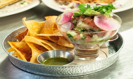Up to 52% Off Mexican Food at Cocina Central