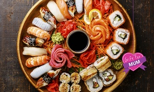 Far East Fusion: Sushi Platter - 36 ($25), 48 ($33) or 60 Pieces ($40) from Far East Fusion (Up to $60 Value)