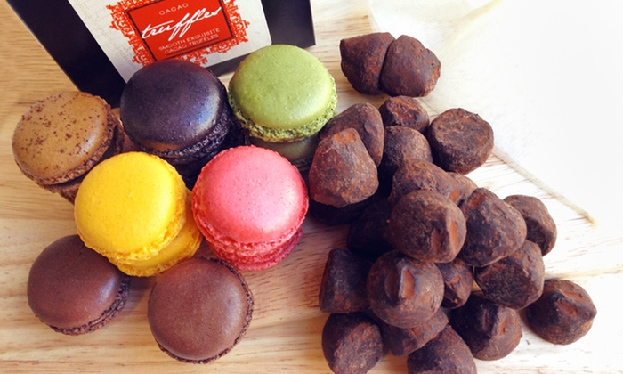 Barclay Paris Macarons and Truffles: 2 Boxes of Barclay Paris Macarons or Truffles or 1 of Each. Free Shipping.