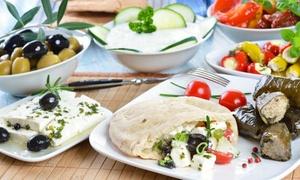 Restaurant Hellas: Griechisches 4-Gänge-Menüfür 2 oder 4 Personen im Restaurant Hellas (42% sparen*)