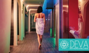 Base Hotel To Work: Percorso Spa di coppia di 2 ore con massaggio a scelta al Deva Anti-Aging & Wellness (sconto fino a 54%)