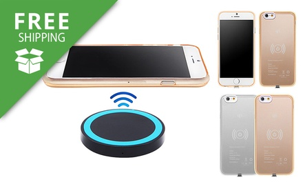 Free Shipping: $19 for a Case with Wireless Charging Pad for iPhone 5/5s/6/6s/6 Plus/6s Plus