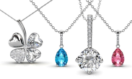 Pendentif orné de cristaux Swarovski®