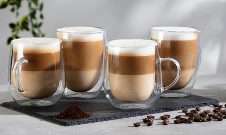 Set di bicchieri per latte o caffè