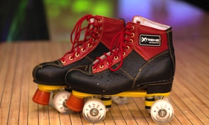 Skate Sessions with Skate Rental and Arcade Cards at Xtreme Action Park (Up to 55% Off). Three Options Available