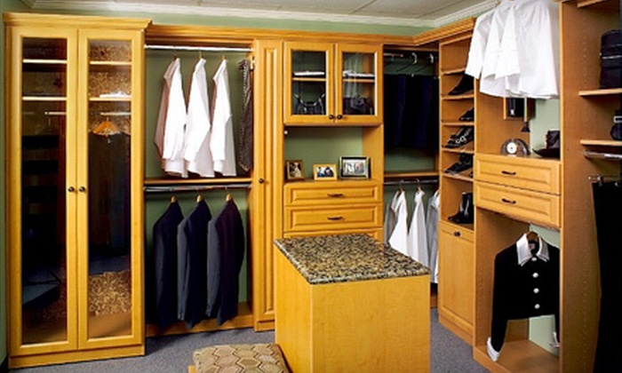 SpaceMan Home & Office - SpaceMan Home & Office: $199 for $500 Worth of Custom Closet-Update Services from SpaceMan Home & Office