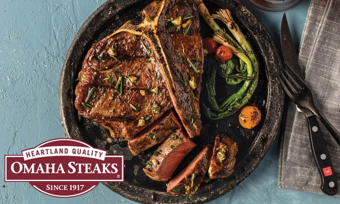 Meat Packages from Omaha Steaks (Up to 74% Off). Six Options Available.