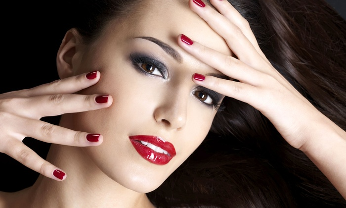 The Nail Spot Spa & Lounge - Anderson: $19 for a Shellac Manicure at The Nail Spot Spa & Lounge (Up to $40 Value)