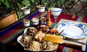 El Salto De Las Ranas: Desde $449 por almuerzo o cena gourmet mexicana para dos o cuatro + bebidas en El Salto De Las Ranas