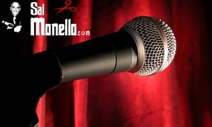 Sal Monello: Sal Monello's Comedy Gladiators: Ticket and Hot Meal for Up to Four, Riproar Comedy Club, Choice of Date (Up to 72% Off)