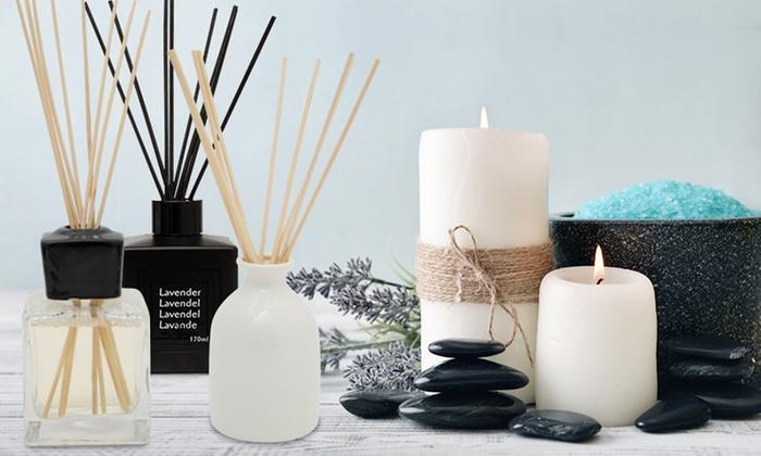 Groupon Goods Global GmbH: Diffuseurs de parfums avec roseaux170 ml Furmare