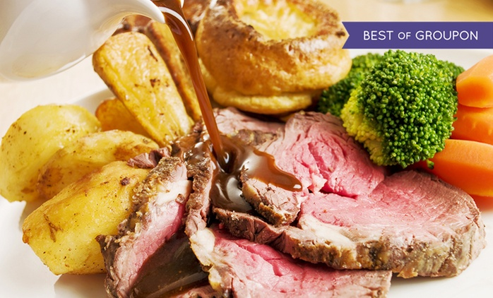 Two-Course Sunday Lunch For Two from £18 at The Ringlestone Inn (Up to 48% Off)